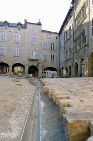 caniveaux de Villefranche-de-Rouergue