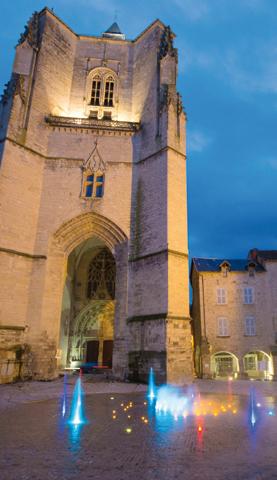 fontaine de Villefranche-de-Rouergue